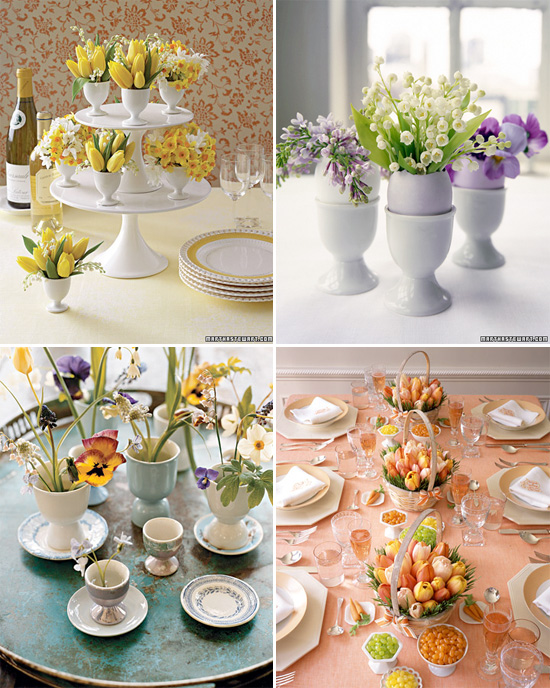 these easter table ideas from wedding flower ideas could work really