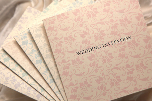 beauty wedding invitations