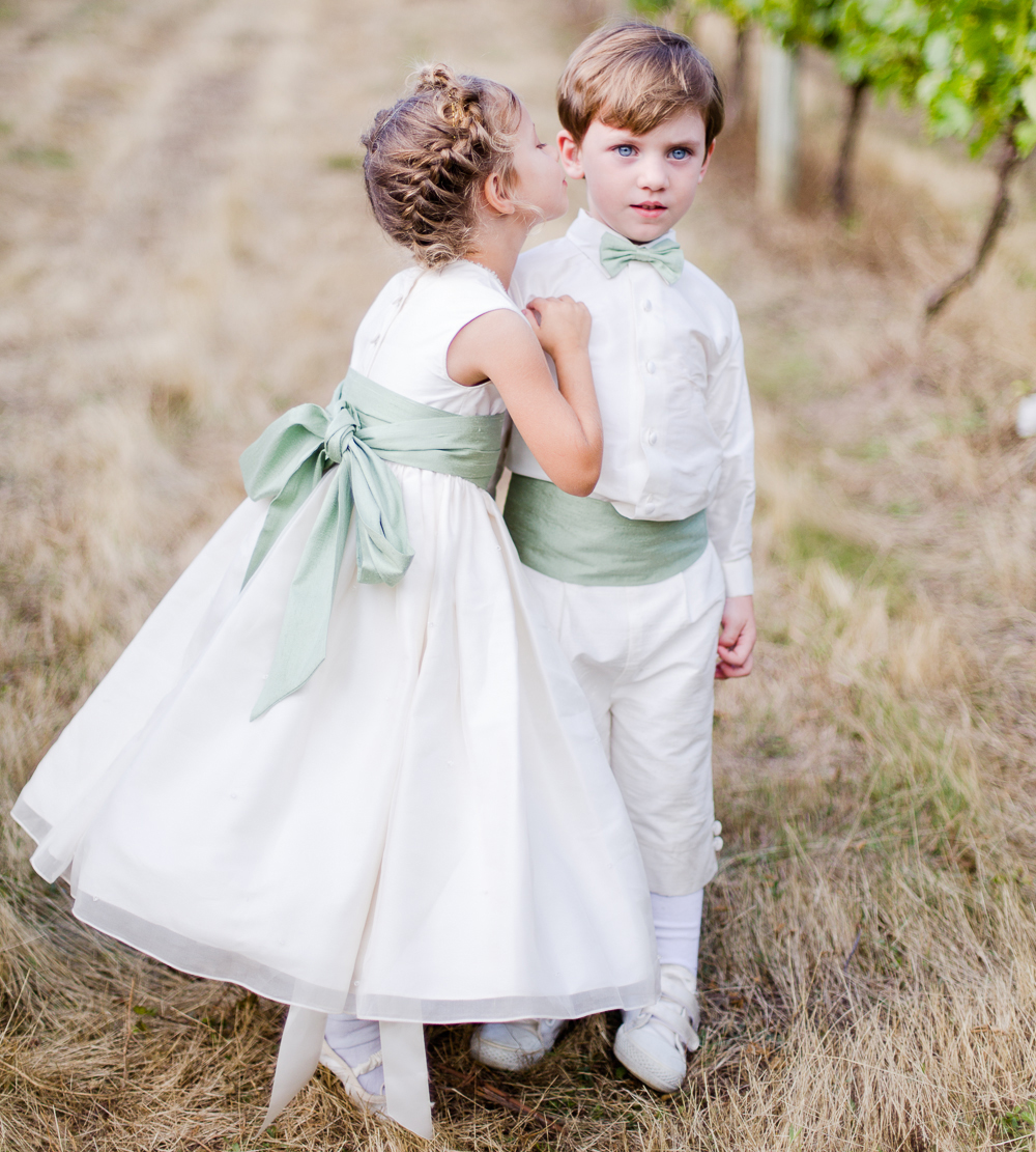 Wedding Flower Girl: Clothing Tips For Flower Girls And Page Boys With Little