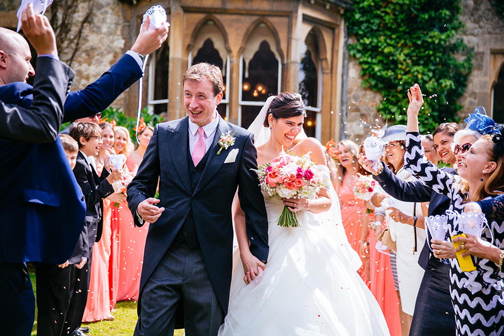 by Sarah Legge Photography - English Garden wedding