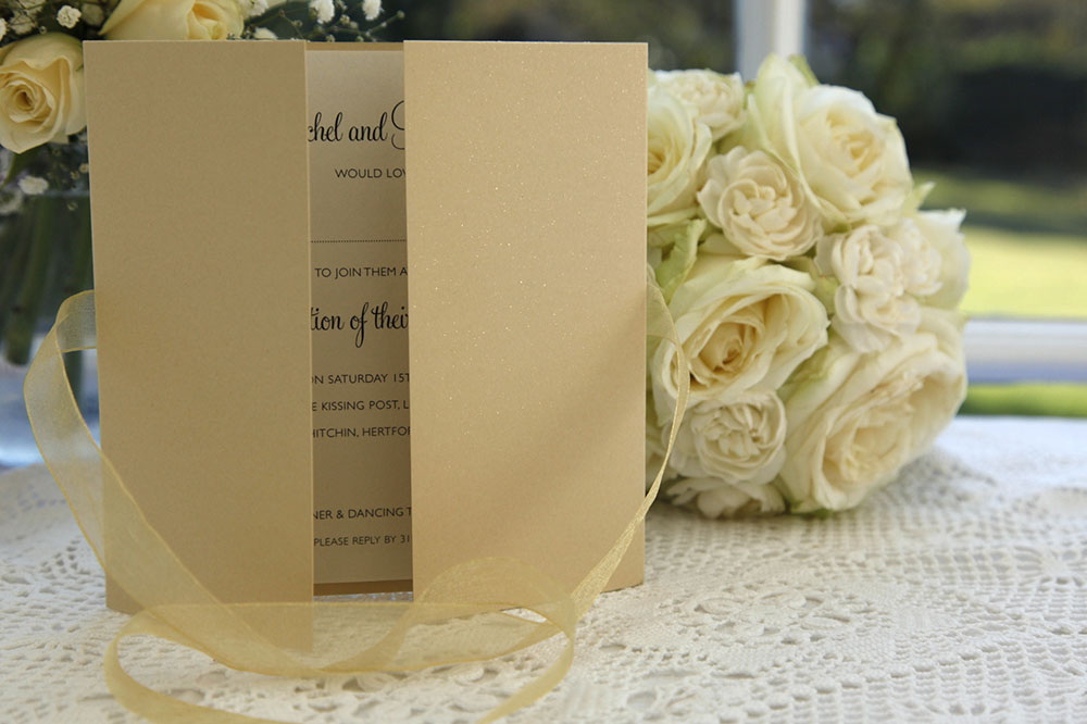 GOLD DUST - Colourful Wedding Invitations