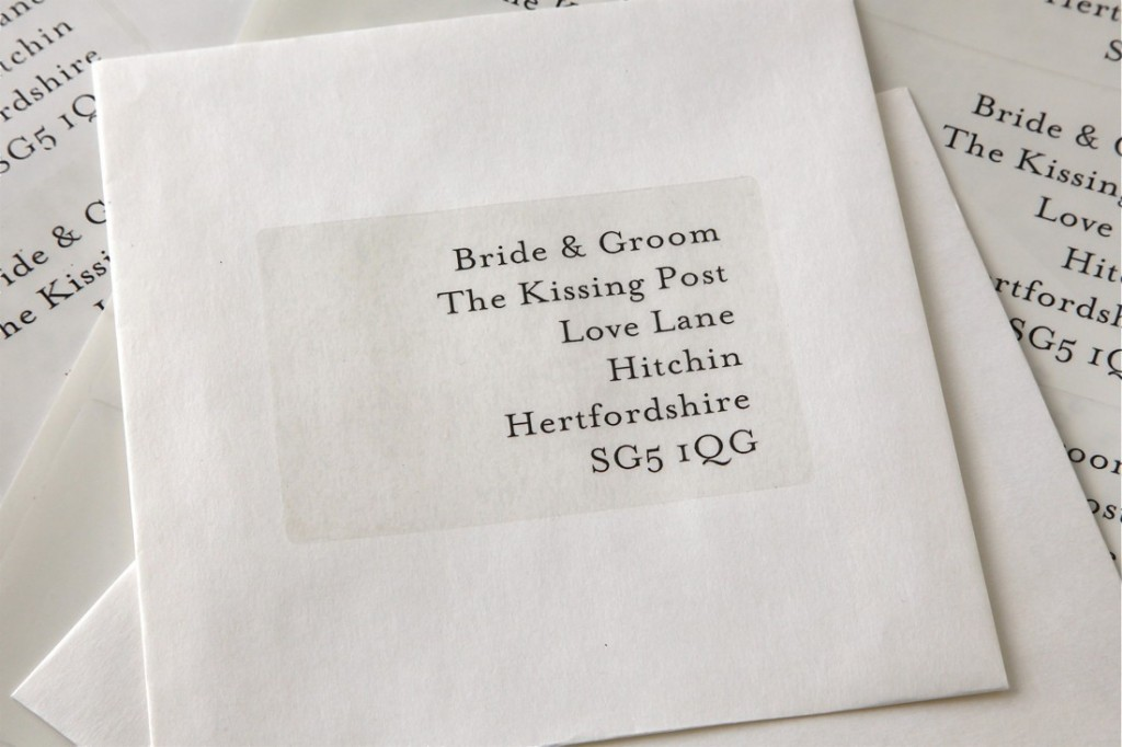 weddinginvitationlabels Sending Your Wedding Invitations