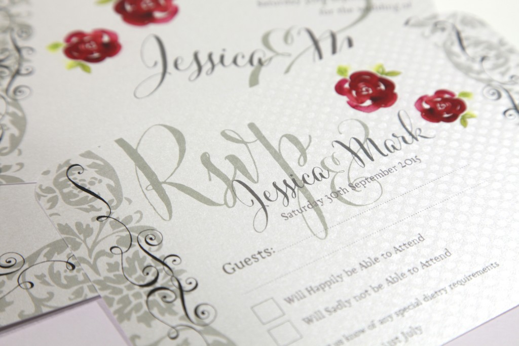 rsvp card - history of wedding invitation