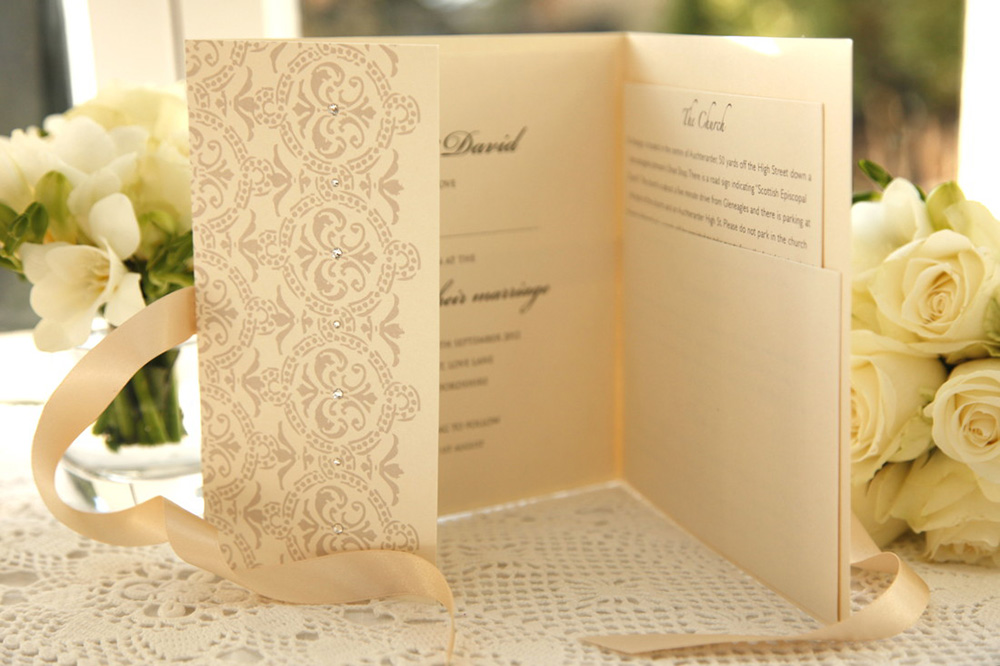 vinagatefoldinvitation-Styles of Wedding Invitations