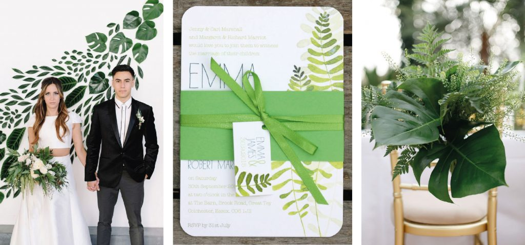 greenery wedding trends for 2017