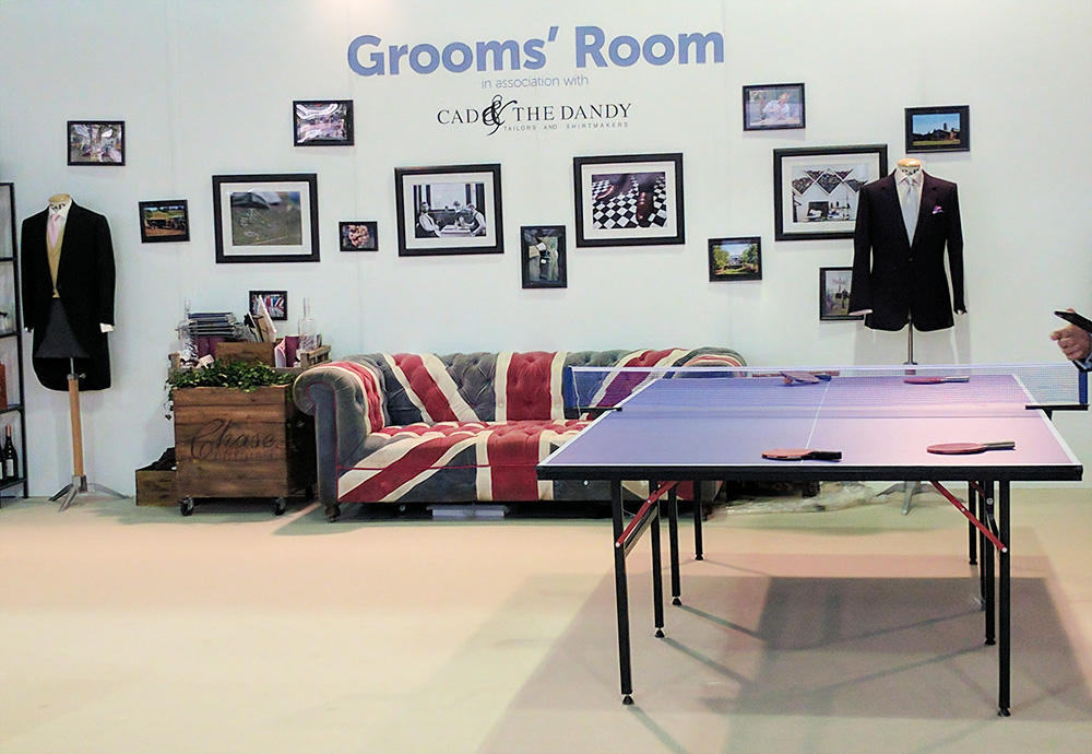 grooms-room national wedding show