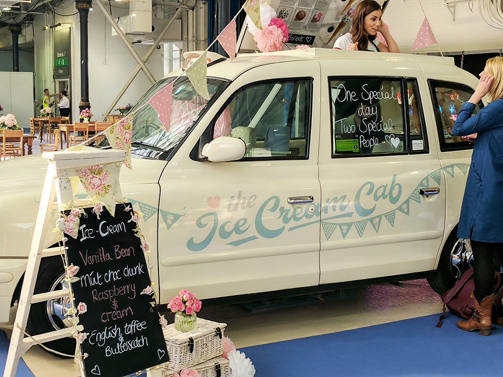 ice-cream-cab national wedding show