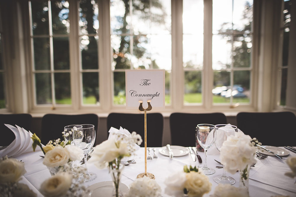 table number - wedding theme