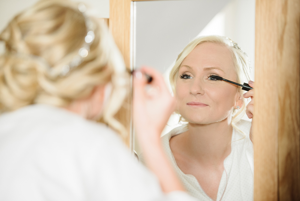 Wedding Day Makeup - bride